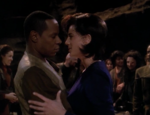 Dax is Sisko's mistress