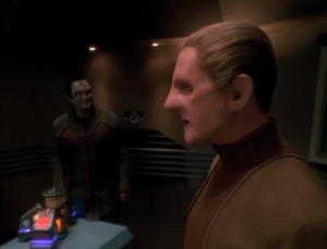 Garak needs to prove himself to Tain by interrogating Odo