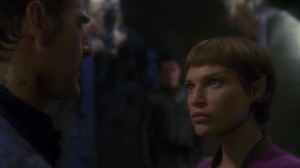 When T'Pol refuses to sacrifice one third of Enterprise's anti-matter, Archer relieves her of duty