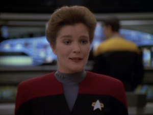 Janeway says that it's too neat to pass up, and they're going to examine the yetis some more