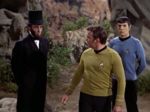 Kirk realizes that his team sucks, and he says him and Spock refuse to participate in this thing