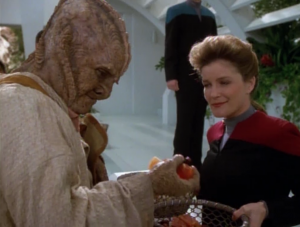 Janeway makes a deal