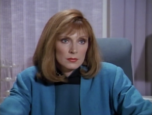Beverly says it's all because of Sarek's rare medical condition. He's having a hard time controlling emotions, and he's psychicaly projecting intense emotions on other people