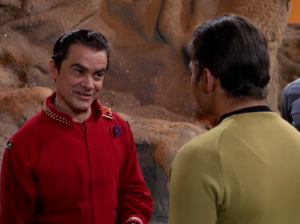 Col. Green tries to negotiate with Kirk