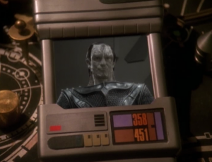 Because of the particles they reach up to warp speeds and make it all the way to Cardassian space