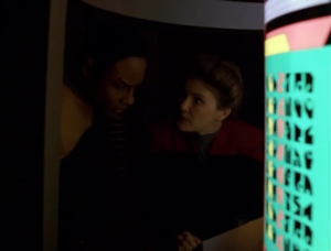 Then Tuvok and Janeway figure everything out