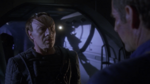 Enterprise answers a distress signal from another ship. They've taken a beating from anomalies. Archer says he can give them the cure if they give him a warp coil. They say no. It would mean their return trip home would take three years