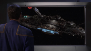 But then a different Enterprise shows up and says they probably shouldn't do that