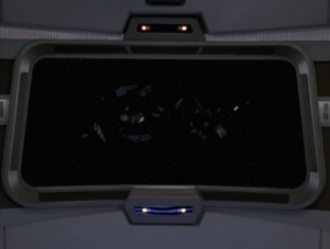 Voyager was going to a science station but all they find is debris