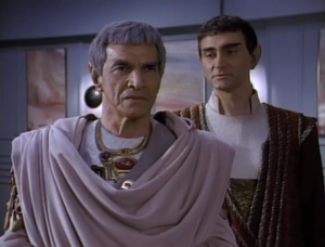 Theres another situation where they're negotiating with aliens and only a specific diplomat is capable of settling things. This time it's Sarek!