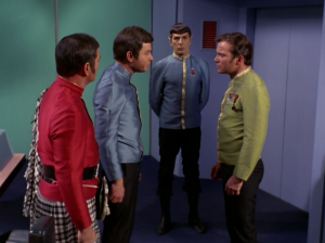 Lincoln wants Kirk and Spock to beam down to the planet with him. Everyone thinks this is a bad idea except Kirk. He wants to hang out with Lincoln
