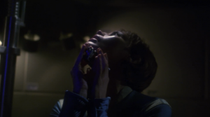 T'Pol risks her life to inject herself with something