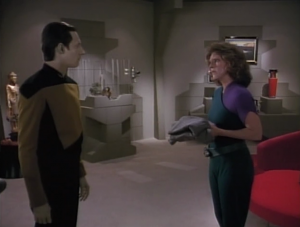 Data starts to get through to one of his captors