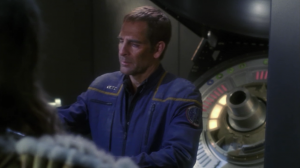 Archer shows the Xindi evidence that the reptillians were making a bio-weapon