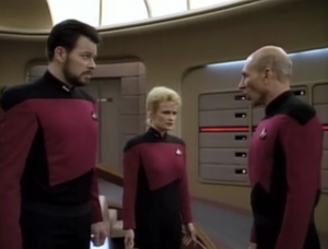 They realize that the Borg have changed, and that they are no longer simply interested in taking technology