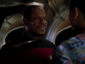 Sisko gets promoted to captain!