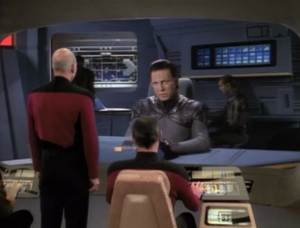 Enterprise runs into other people from John's species