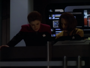 But B'Elanna invents a way to beam them out