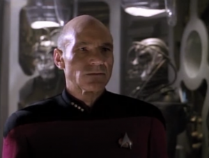 """The """"resistance is futile"""" mantra has become a little trite in the Star Trek fan world, so I forgot how chilling it was in this episode. The Borg are already preparing for Earth's transition to subjugation even before the battle has started."""