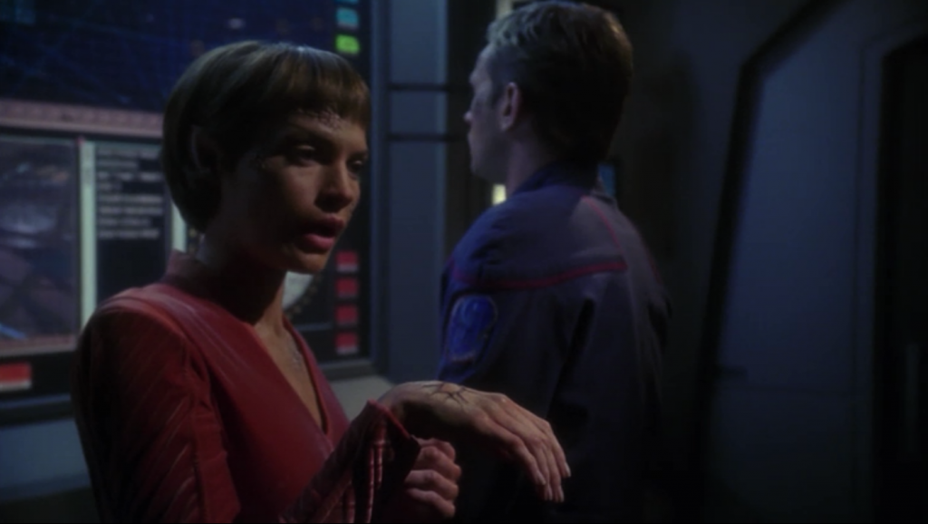 T'Pol says she's 65