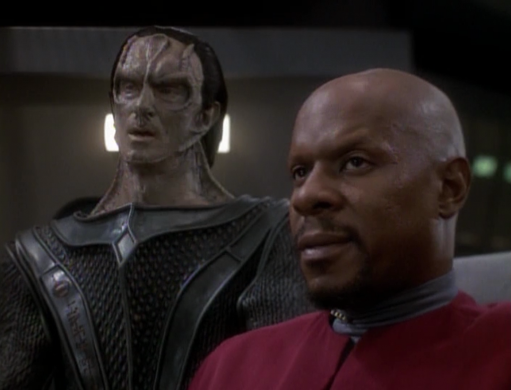 They save the Cardassian leaders but some Klingons are following them back to DS9