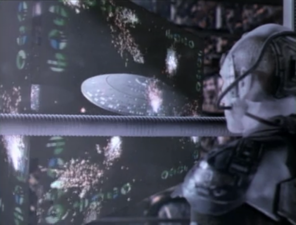 Riker used Locutus' knowledge of Federation procedures against him