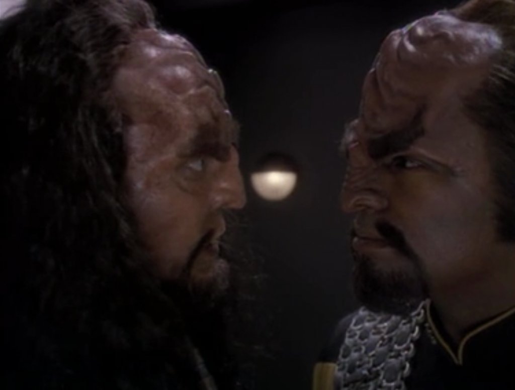 It was a way of getting to Martok, but Martok won't say what the Klingons are up to