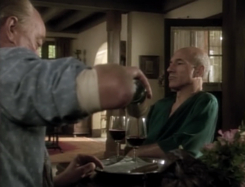 The Picard brothers have a little bit to drink