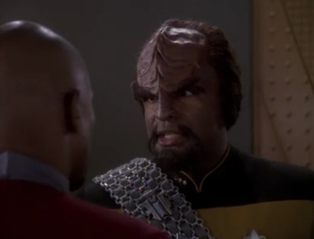 The Klingons plan on attacking the Cardassians. The Klingons think changelings are behind the recent change of government on Cardassia