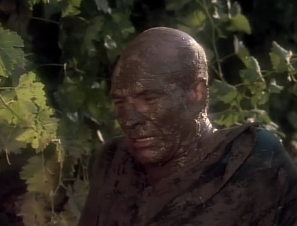 Picard's true feelings come out about what happened with him with the Borg