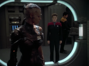 Janeway isn't allowing Seven to make her own decisions until she's not such a borg
