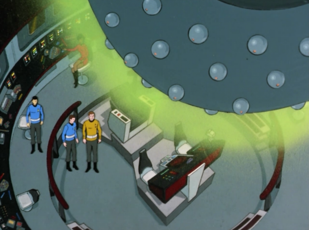 The green thing needs the crew to get the ship out of orbit
