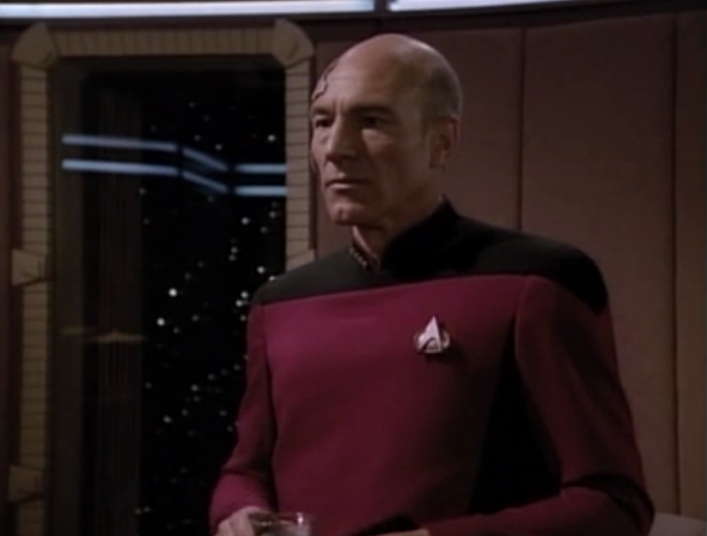 Picard seems shaken. Unofficial to be continued!