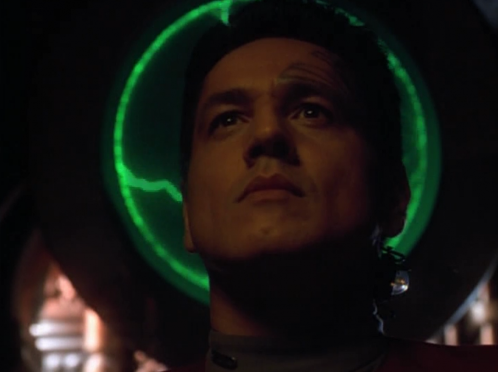 But then Janeway gives the code word to Chakotay to plug himself into her mind