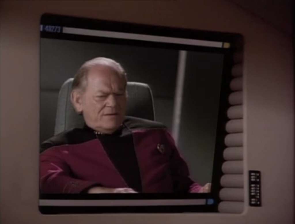 Admiral J.P. is gathering an armada to confront the cube before it gets to earth. He said that we have to consider Picard a casualty