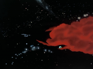 There's a planet-eating cloud headed for a federation world. Enterprise checks it out