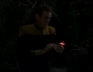 O'Brien seizes an opportunity to get away from the Jem-Hadar