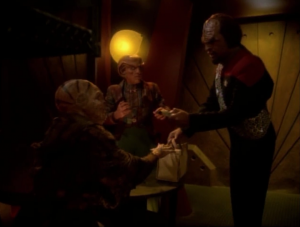 Worf takes matters into his own hands