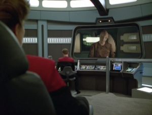 Voyager comes across some aliens that have almost been wiped out by the borg. They ask for help
