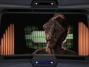 The aliens are willing to trade the warp core for more medical supplies and food than Voyager was originally willing to give. Oh, and they also want Seven because they hate her