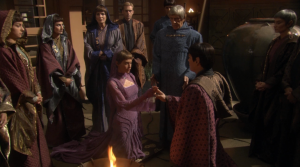T'Pol gets married