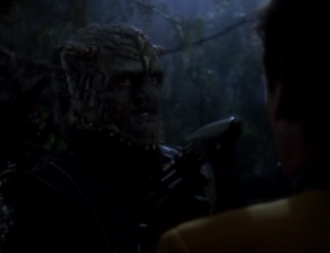 There are some Jem'Hadar hanging out