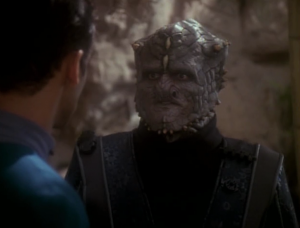 These Jem-Hadar aren't with the Dominion. Their leader isn't addicted to ketracel-white and he wants Bashir to figure out how to free his buddies from the addiction. He thinks it has something to do with this planet