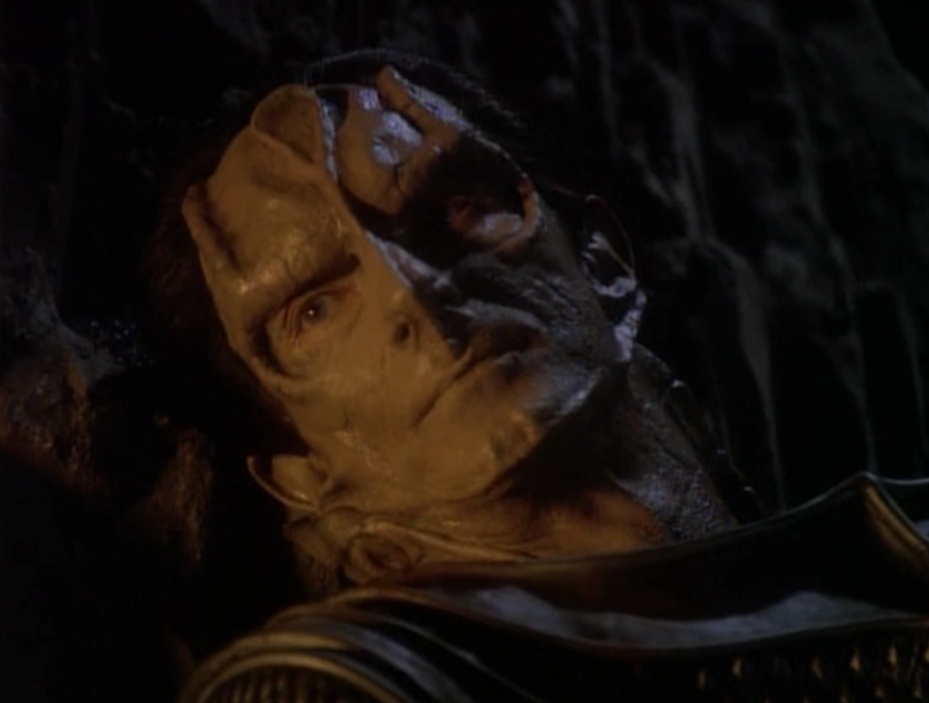Dukat also had a daughter on the ship and he says he's gonna kill her. No one can know about her