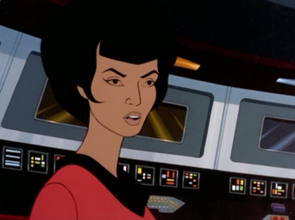 So Uhura takes command