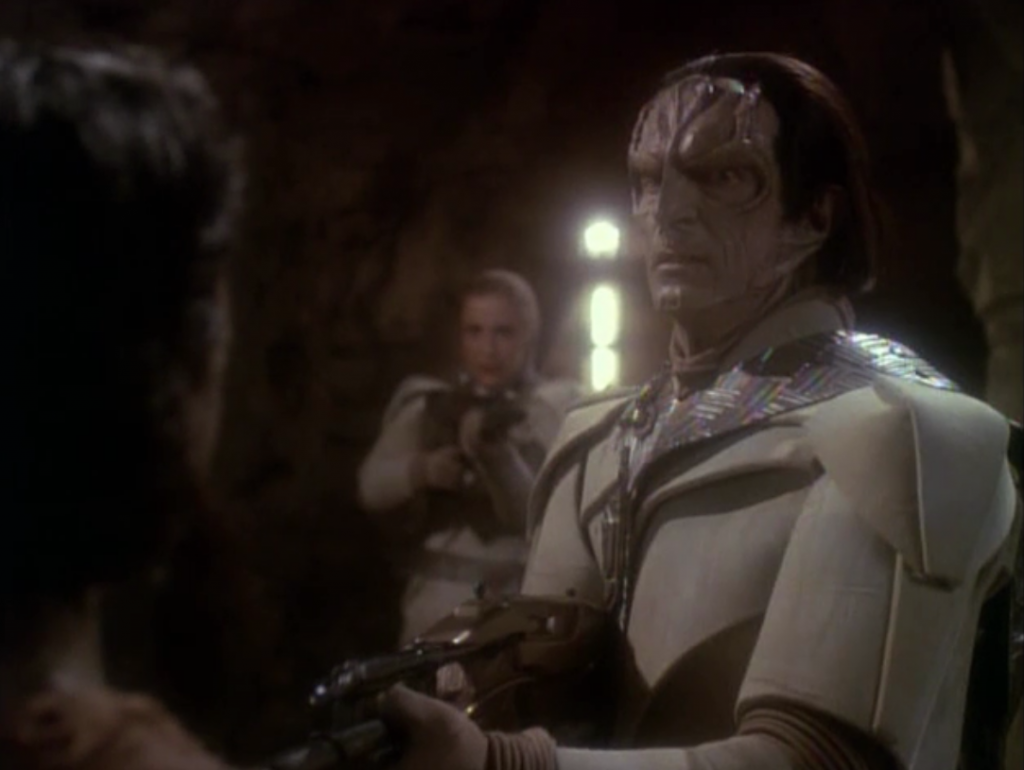 Dukat finds his daughter, Ziyal