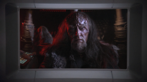 Enterprise has a run-in with the Klingons