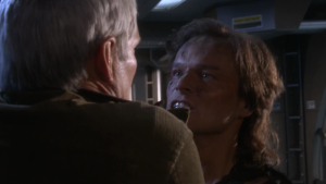 But he somehow beamed aboard Enterprise so Archer could kill him