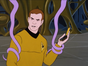 There communicators and phasers stop working. It was a trap!
