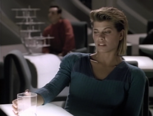 She didn't really like Tasha. She thought Tasha abandoned her people, but hanging out on Enterprise, she starts to think Tasha made the right choice to leave.